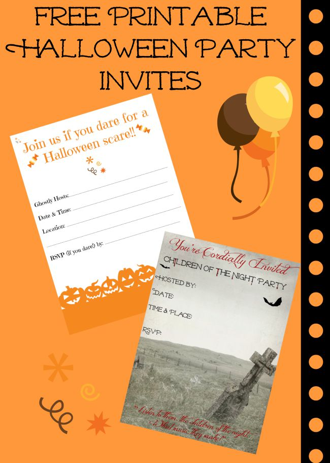 Printable Your Invitations Free