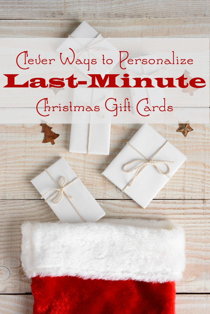 Clever Ways To Personalize Last Minute Christmas Gift