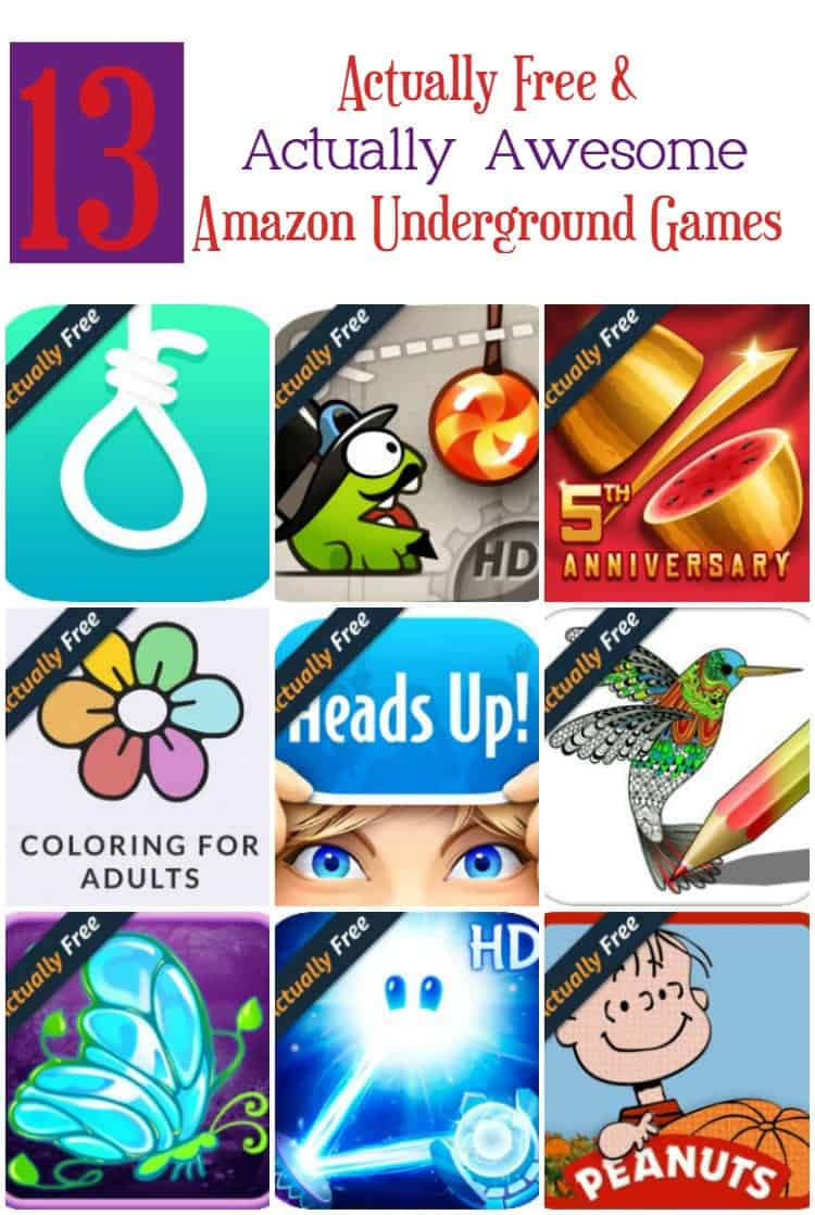 13 Amazon Underground Actually Free Games That Are