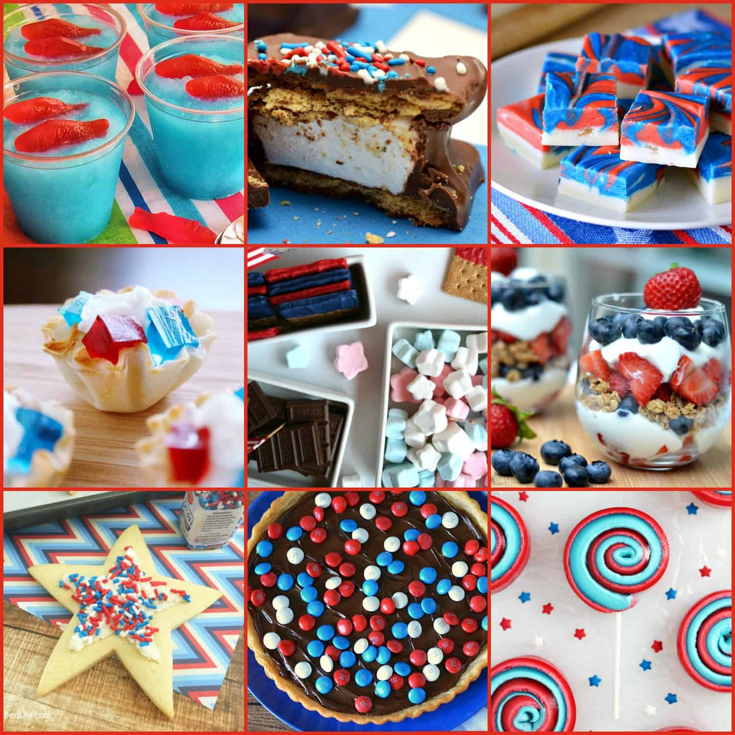 Patriotic Desserts For Memorial Day 4th Of July And Labor Day