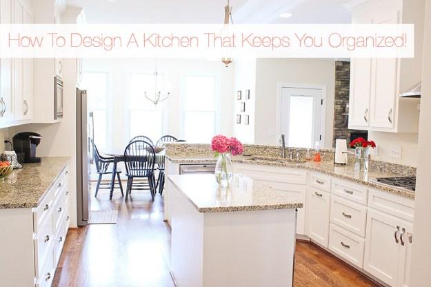 an organized dream kitchen: smart kitchen storage tips