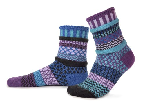 Solmate Socks – Mismatched Crew Socks; Made in USA