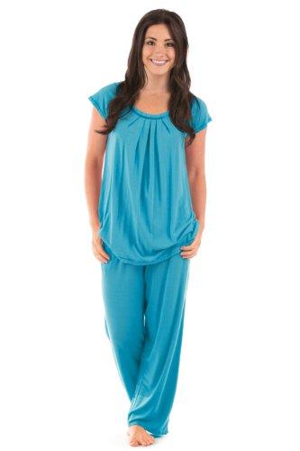 Women's Bamboo Pajama Sleep Set (Bamboo Bliss) Eco-Friendly Gifts