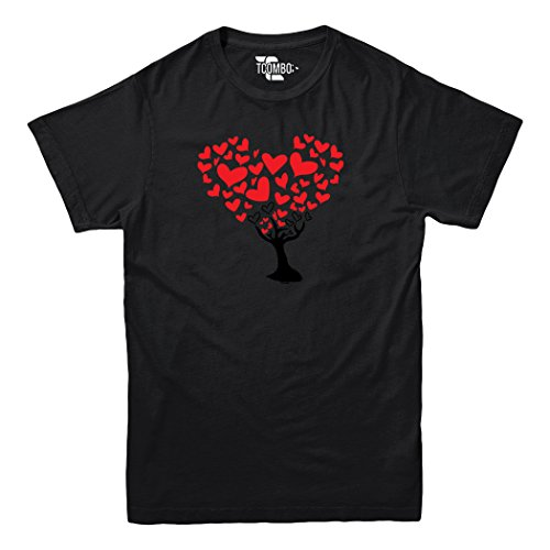 Tree of Heart – Love Valentine day Gift – YOUTH Big Boys T-shirt