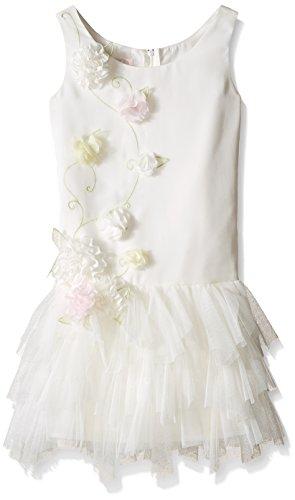 Biscotti Girls' Wedding Belles Multi Flower Dress