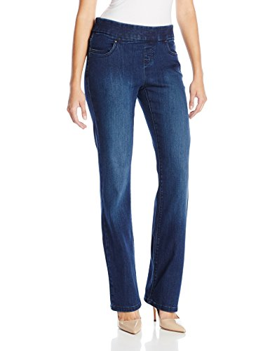 Lee Women's Natural-Fit Pull-On Barely Bootcut Pant