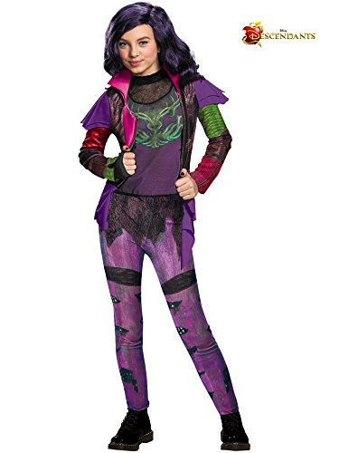 Disguise Girls Mal Isle of the Lost Deluxe Costume