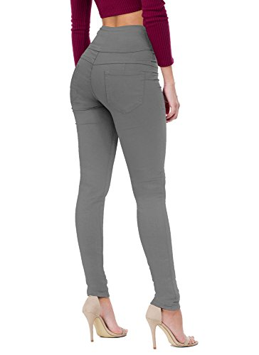 Hybrid & Company Women's Butt Lift V3 Super Comfy Stretch Denim Skinny Jeans