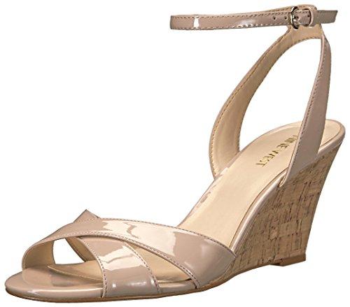 Nine West Women's Kami Patent Wedge Sandal