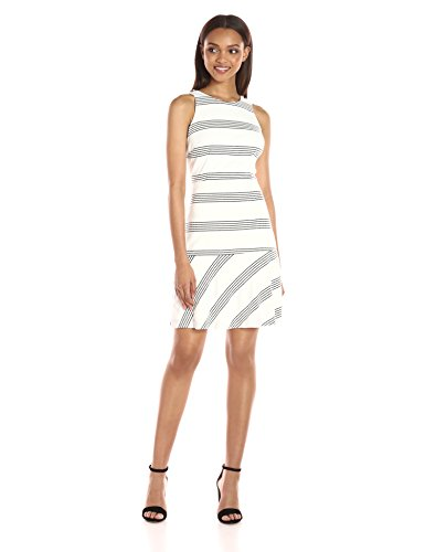 Jessica Simpson Women's Textured Striped Knit Dress
