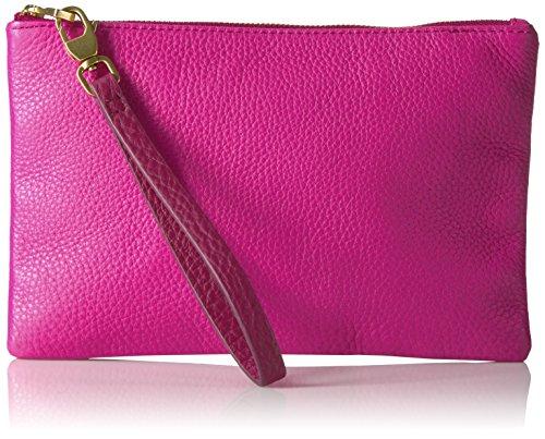 Fossil Rfid Wristlet Hot Pink Wallet