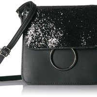 T-Shirt & Jeans Mini Sparkle Flap Cross Body with Ring