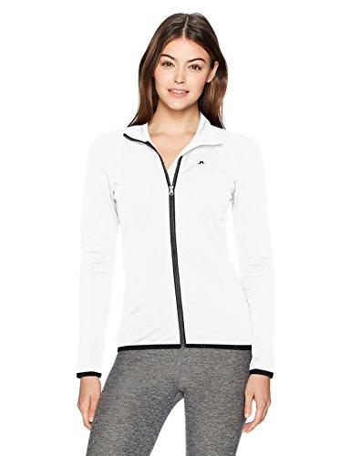 J.Lindeberg Women's W Kimball Jacket, White, S
