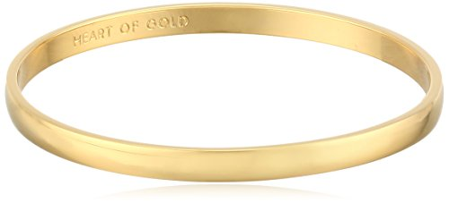 "kate spade new york Idiom Collection ""Heart of Gold"" Bangle Bracelet, 7.75″"
