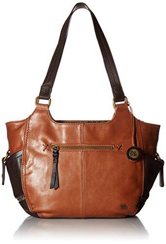 The Sak Kendra Satchel Handbag, Brown Snake Multi, One Size