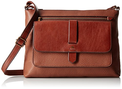 Fossil Kinley Crossbody, Brown, One Size