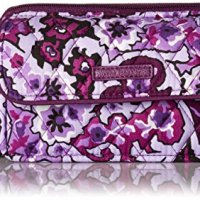 Vera Bradley Rfid All in One Crossbody-Signature, Lilac Paisley