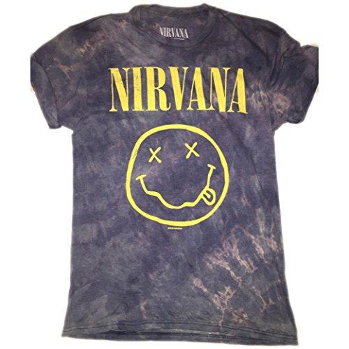 HandBleached Vintage Inspired Nirvana Band Tee