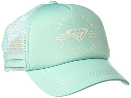 Roxy Junior's Dig This Trucker Hat, Pool Blue, One Size