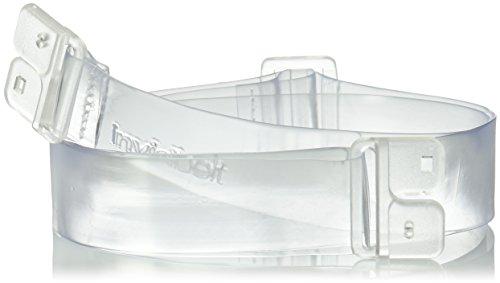 Invisibelt Original Lay Flat Women's Belt, Standard Clear