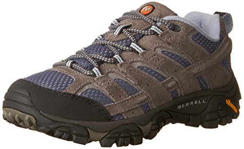 Merrell Women's Moab 2 Vent Hiking Shoe, Smoke, 8.5 W US