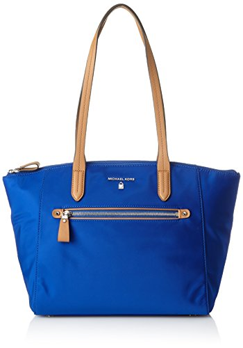 Michael Michael Kors Kelsey Top‑Zip Medium Tote ‑ Blue