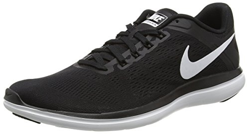 NIKE Women's Flex 2016 RN Running Shoe, Black/White/Cool Grey, 8.5 B(M) US