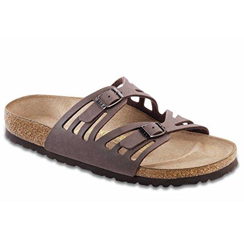 Birkenstock Granada Narrow Sandal – Women's Mocha Birkibuc, 38.0