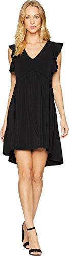 BCBGeneration Women's Ruffle Dress, Black, S