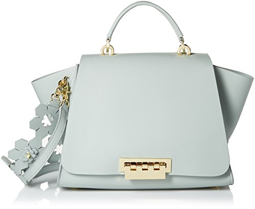 ZAC Zac Posen Eartha Iconic Soft Top Handle, Gray