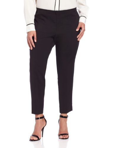 Karen Kane Women's plus-size Capri, Black, 16W