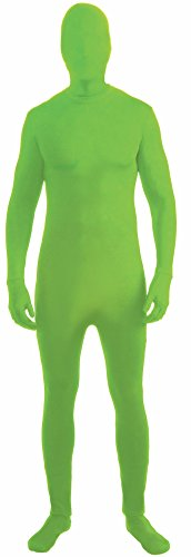 Forum Novelties I'm Invisible Costume Stretch Body Suit, Green, Child Medium
