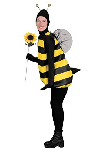 Forum Women's Bumble Bee Costume, Black/Yellow, Large