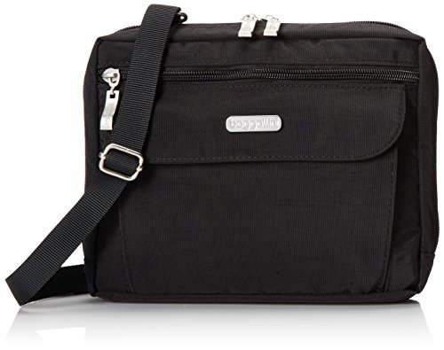 Baggallini Wander Crossbody Travel Bag, Black, One Size