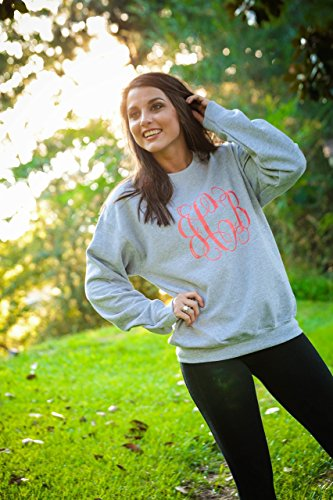 monogrammed sweater personalized sweater