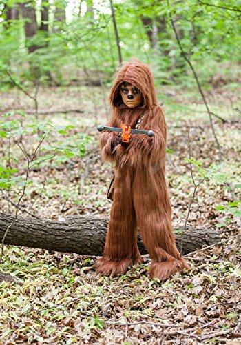 Princess Paradise Boys' Classic Star Wars Premium Chewbacca Jumpsuit, Brown, Medium