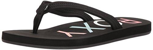 Roxy Women's Vista Sandal Flip-Flop, Black New, 8 M US