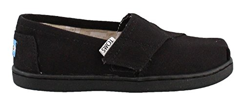 TOMS Kids Alpargata 2.0 (Infant Little Kid), Black, 9 Toddler M