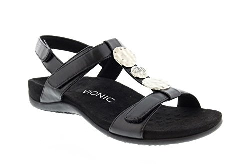 Vionic Women's Rest Farra Backstrap Sandal Black Black 8M