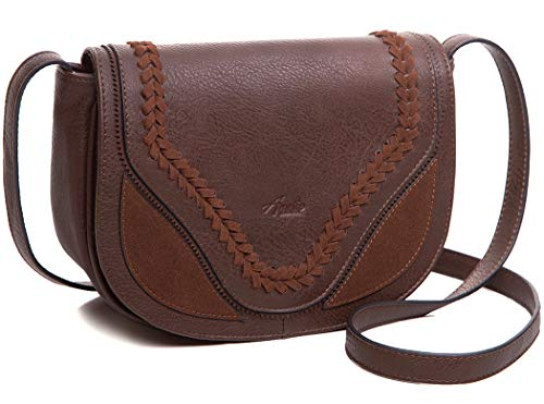 Crossbody Bag for Women, Purses and Handbag Satchel with Traditional Hand-made Cover