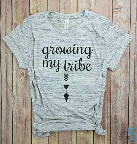 8a33ff2250 Growing My Tribe Shirt, Pregnancy Shirt, Don't eat watermelon seeds  maternity, Pregnancy Announcement, Funny Pregnancy Shirt, Pregnancy Gift |  Pretty .