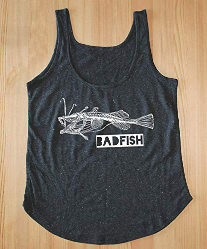 Bad Fish Tank Top – Sublime Tank Top – Sublime Shirt – Sublime T Shirt – Womens 90s Tank Top – Womens Festival Clothing – Womens Festival Shirt