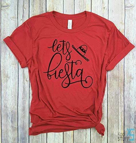 Let's fiesta, Good Vibes Only, Vacay mode, Beach shirt, Vacation shirt, Bachelorette, Cinco de Mayo, funny shirt, Bar hopping shirt, Party shirts for Women