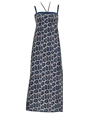 OPERA 63305-26 Women's Blue Animal Blue Beach Dress 16