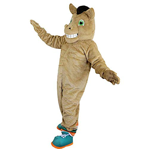 Krister Brown Horse Mascot Costume Adult Halloween Costume