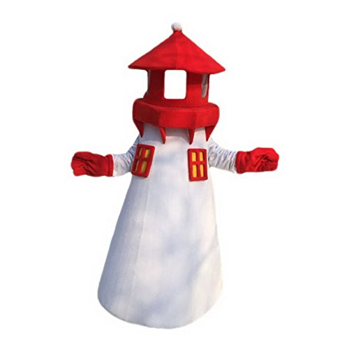 Langteng Lighthouse Mascot Costume Cartoon Character Real Picture