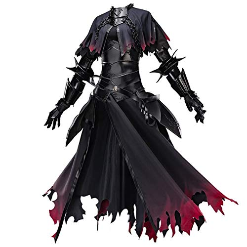 Fate Grand Order Jeanne d'Arc Alter (J'Alter) Cosplay Cosplay Costume Fightingsuit Halloween Costume Full Set (Customized) Black