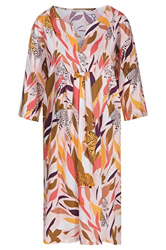 Feraud 3195125-10737 Women's Voyage Multicolour Tiger Print Beach Dress 8