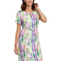 Rosch 1205559-16397 Women's Stripe Multicoloured Beach Dress 12