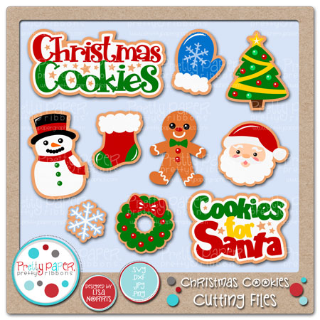 Christmas Cookies Cutting Files